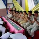 พิธีไหว้ครู  ประจำปีการศึกษา 2557