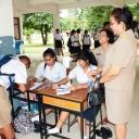 เลือกประธานนักเรียน ประจำปีการศึกษา 2557