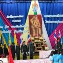พิธีถวายพระพรสมเด็จพระนางเจ้าสิริกิติ์ พระบรมราชินีนาถ ในวโรกาสวันเฉลิมพระชนมพรรษา 12 สิงหาคม 2557