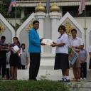 มอบเกียรติบัตร ศิลปหัตถกรรมนักเรียน ครั้งที่ 65 ประจำปีการศึกษา 2558 ณ จังหวัดบุรีรัมย์